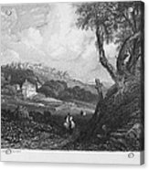 Portugal: Monastery, 1832 Acrylic Print