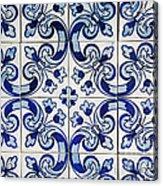 Portuguese Azulejo Acrylic Print