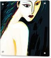 Posing Nude 1 Acrylic Print