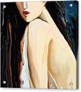 Posing Nude Acrylic Print