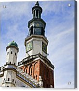 Posnan Poland Clock Tower Acrylic Print