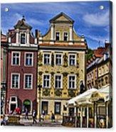 Posnan Shops - Poland Acrylic Print