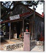 Post Office In Luckenbach Texas Acrylic Print