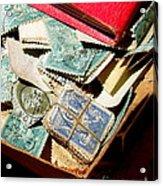 Postage Stamps Acrylic Print