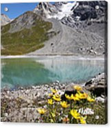 Postcard From Alpes Acrylic Print
