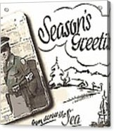 Postcard From War Acrylic Print