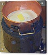 Pot Of Gold Caramel Acrylic Print