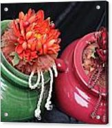Pot Sisters  Acrylic Print