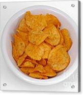Potato Chips Acrylic Print