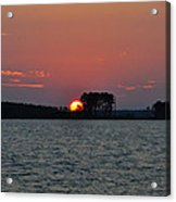 Potomac Sunrise Acrylic Print