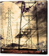 Power Grid Acrylic Print