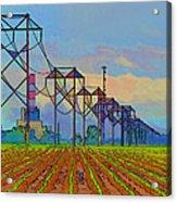 Power Plant Photo Art Acrylic Print
