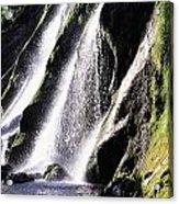 Powerscourt Waterfall, Co Wicklow Acrylic Print