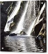 Powerscourt Waterfall, Powerscourt Acrylic Print