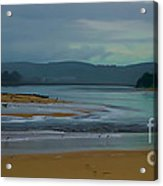 Powlett River Inlet On A Stormy Morning Acrylic Print