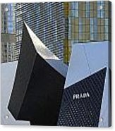 Prada Las Vegas Abstract Acrylic Print