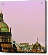 Prague - A Living Fairytale Acrylic Print by Christine Till