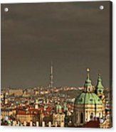 Prague - A Symphony In Stone Acrylic Print by Christine Till