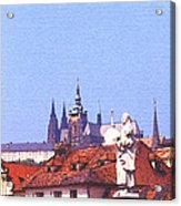 Prague Castle Acrylic Print by Steve Huang