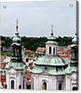 Prague Panorama Acrylic Print