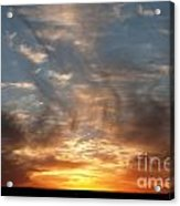 Prairie Sunset No1 Acrylic Print
