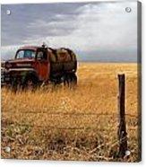 Prarie Truck Acrylic Print