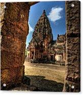 Prasat Phnom Rung Acrylic Print