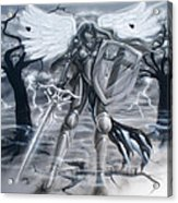 Prayer Warrior Acrylic Print