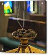 Prayers Rise Like Incense Acrylic Print