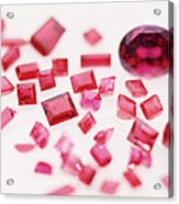 Precious Gemstones Acrylic Print