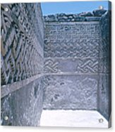Prehistoric Ruins Of Mitla Acrylic Print