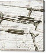 Prehistoric Spear-thrower Acrylic Print