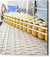 Preserve And Jam Bottling Production Line Acrylic Print