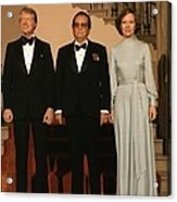 President And Rosalynn Carter Acrylic Print by Everett