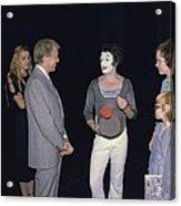President Jimmy Carter Rosalynn Carter Acrylic Print