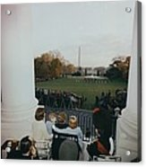 President Kennedy And His Family Watch Acrylic Print