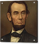 President Of The United States Of America - Abraham Lincoln  Acrylic Print