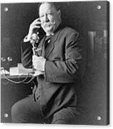 President William Taft 1857-1930 Using Acrylic Print by Everett