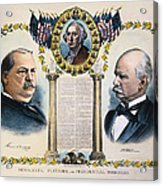 Presidential Campaign, 1892 Acrylic Print