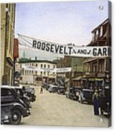 Presidential Campaign, 1936 Acrylic Print by Granger