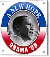 Presidential Campaign, 2008 Acrylic Print