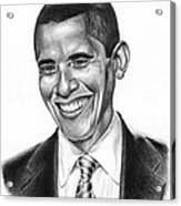 Presidential Smile Acrylic Print by Jeff Stroman