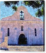 Presido Chapel San Elizario Texas Acrylic Print