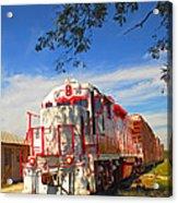 Prettiest Train Ever Acrylic Print