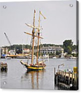Pride Of Baltimore II Pb2p Acrylic Print