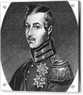 Prince Albert (1819-1861) Acrylic Print