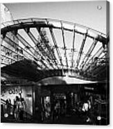 Princes Mall Princes Street Edinburgh Scotland Uk United Kingdom Acrylic Print