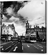 Princes Street Edinburgh Scotland Acrylic Print by Joe Fox