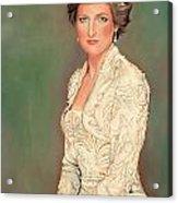Princess Diana Acrylic Print