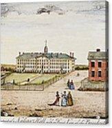 Princeton College, 1764 Acrylic Print